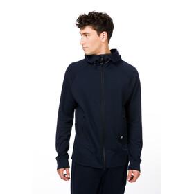 super.natural M's Travel Zip Hoodie Navy Blazer